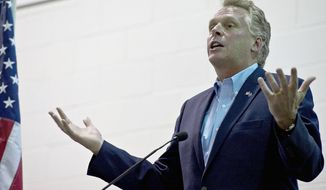 **FILE** Terry McAuliffe (The Washington Times)