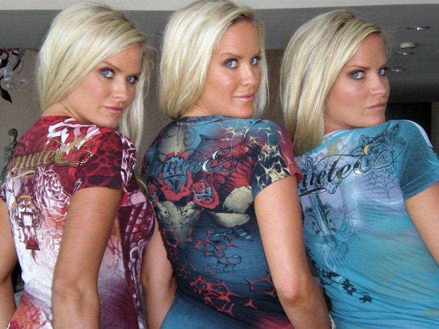 The Dahm triplets, Erica, Nicole and Jaclyn, of Playboy Magazine fame. The odds of having triplets: 1 in 8,100.