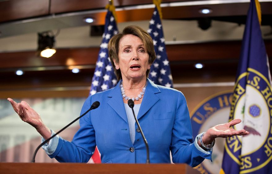 "House Minority Leader Nancy Pelosi has the highest ""warmth rating"" among congressional leaders. (Associated Press)"