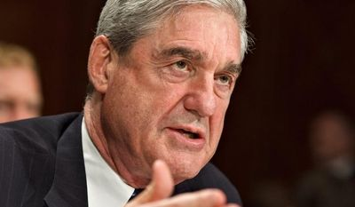 **FILE** FBI Director Robert S. Mueller III testifies on May 16, 2012, on Capitol Hill before the Senate Judiciary Committee. (Associated Press)