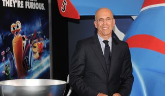 "**FILE** DreamWorks CEO Jeffrey Katzenberg attends the premiere of ""Turbo"" at the AMC Loews Lincoln Square in New York on July 9, 2013. (Evan Agostini/Invision/Associated Press)"