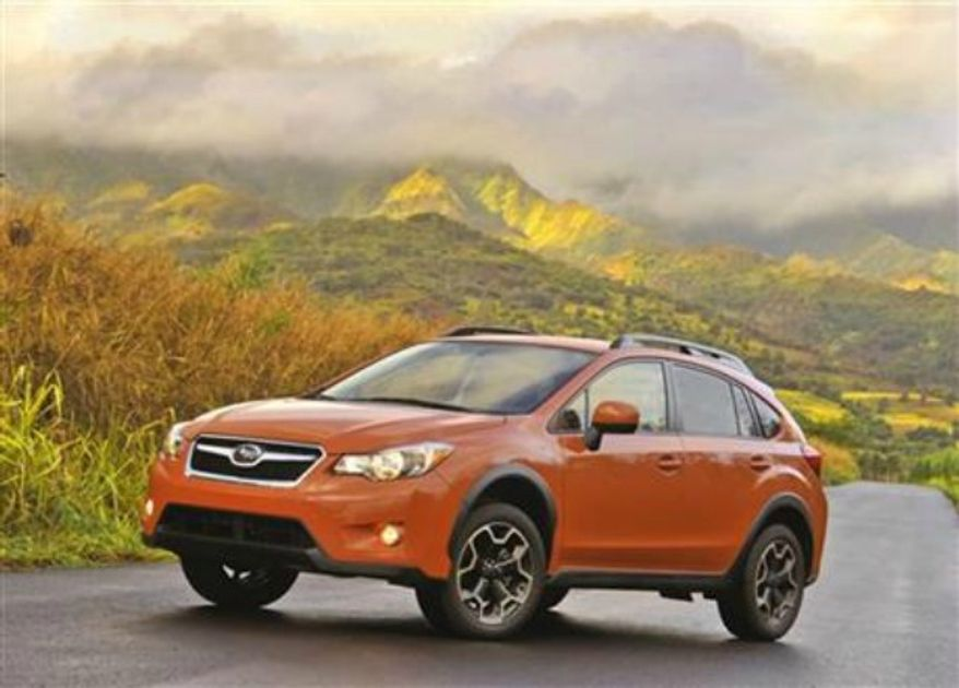 ** FILE ** The 2013 Subaru XV Crosstrek. (AP Photo/Subaru)