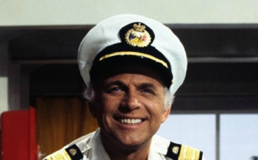 Actor Gavin MacLeod of The Love Boat. (Image: ABC)