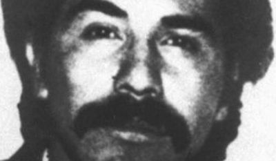 Rafael Caro Quintero, considered the grandfather of Mexican drug trafficking, is shown here in an undated photo. A Mexican court has ordered the release of Mr. Quintero after 28 years in prison for the 1985 kidnapping and killing of U.S. Drug Enforcement Administration agent Enrique Camarena. (AP Photo/File)