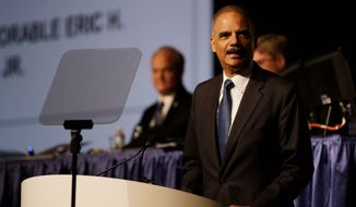 Attorney General Eric H. Holder Jr. is a Johnny-come-lately when it comes to the issue of criminal sentencing reform, according to one critic. Ideas have been floated in Congress to address the disparity in sentencing when it comes to drug offenses. (ASSOCIATED PRESS)