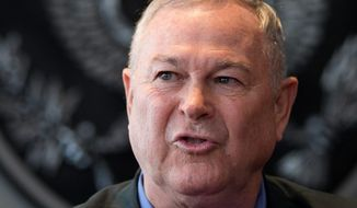 "Rep. Dana Rohrabacher, California Republican, said that Edward Snowden has been loyal to his country by ""letting the American people know that their government was getting out of hand."" (Associated Press)"