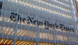 The New York Times building (Wikimedia Commons)