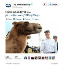 Image: White House Twitter account