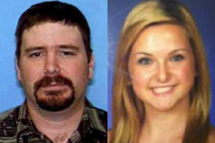 ** FILE ** James Lee DiMaggio (left), 40, and Hannah Anderson, 16, are pictured in a combination of undated file photos provided by the San Diego Sheriff's Department. (AP Photo/San Diego Sheriff's Dep