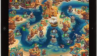 Battle 30 types of enemies in the new iPad nautical tower defense game Pirate Legends  from Super Hippo Games.