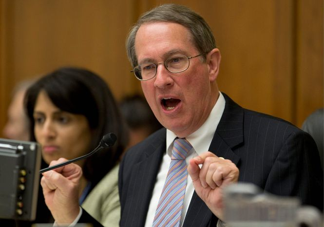 """A """"step-by-step approach is the way to do it with enforcement coming first,"""" said Rep. Bob Goodlatte, Virginia Republican, regarding immigration reform. (ASSOCIATED PRESS)"""