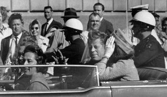 "Hugh Aynesworth was in the crowd watching the motorcade of President John F. Kennedy in downtown Dallas on Nov. 22, 1963, when shots were fired and Kennedy was killed. Mr. Aynesworth has updated his account, ""November 22, 1963: Witness to History."" (Associated Press)"