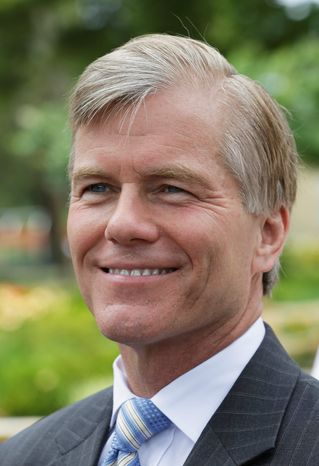 The cumulative budget surplus under Gov. Bob McDonnell has been the largest for any administration in state history. (associated press)