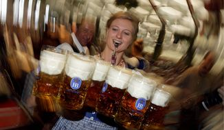 ** FILE ** The famous Bavarian Oktoberfest. (Associated Press)