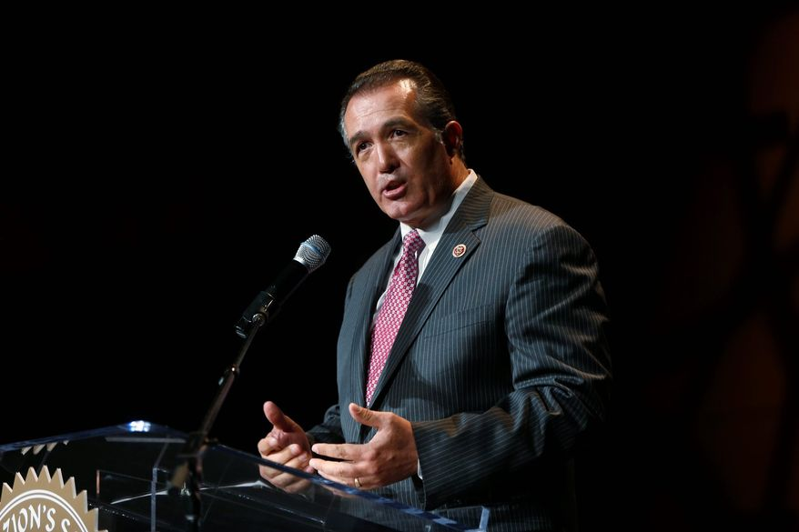 "Rep. Trent Franks, Arizona Republican, that undercover investigations from pro-life groups like Live Action have collected video evidence showing ""the actions and mentality of the Kermit Gosnell clinic are not limited to Pennsylvania."" (ASSOCIATED PRESS PHOTOGRAPHS)"