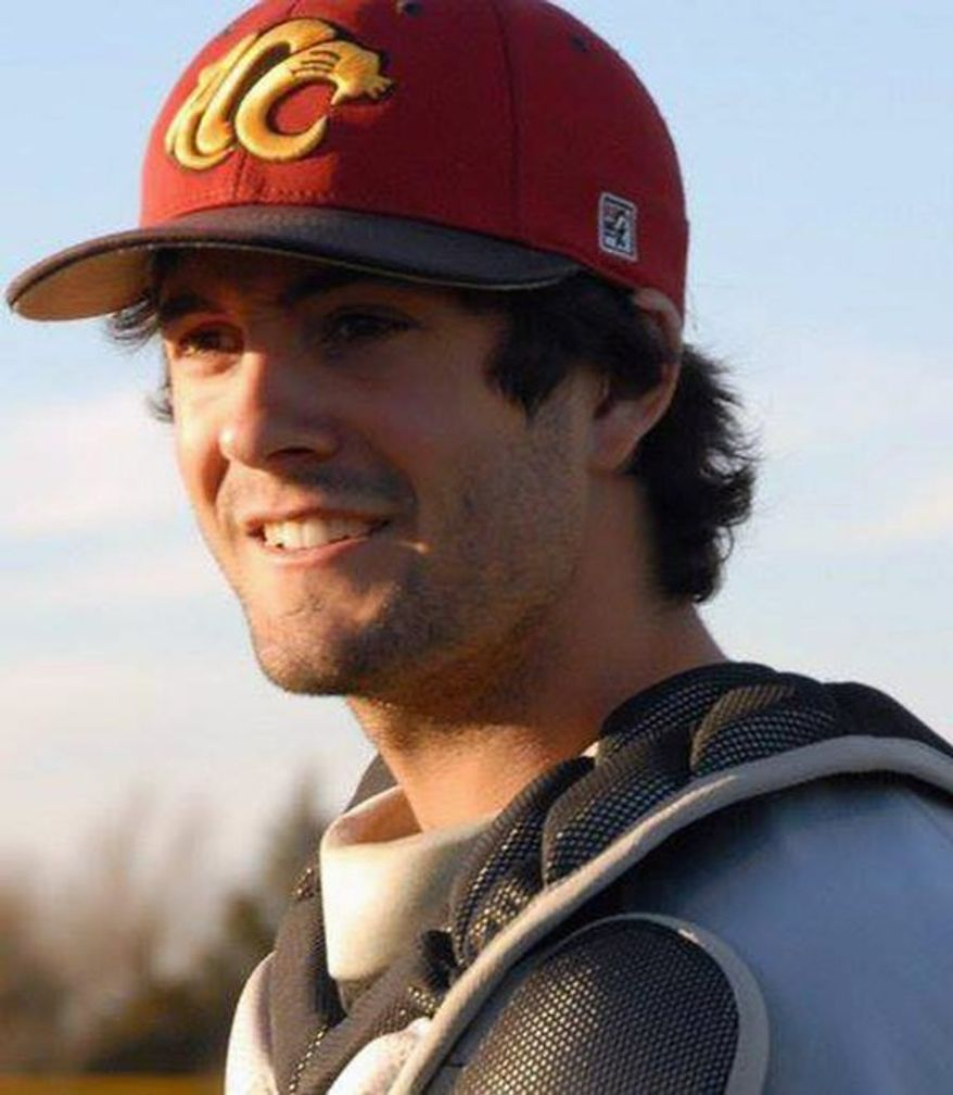Christopher Lane was fatally shot on a street in Duncan, Okla. The Australian was attending college on a baseball scholarship in the U.S. and was visiting his girlfriend. (Essendon Baseball Club via Associated Press)
