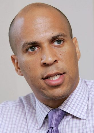Bloomberg News photograph Cory Booker