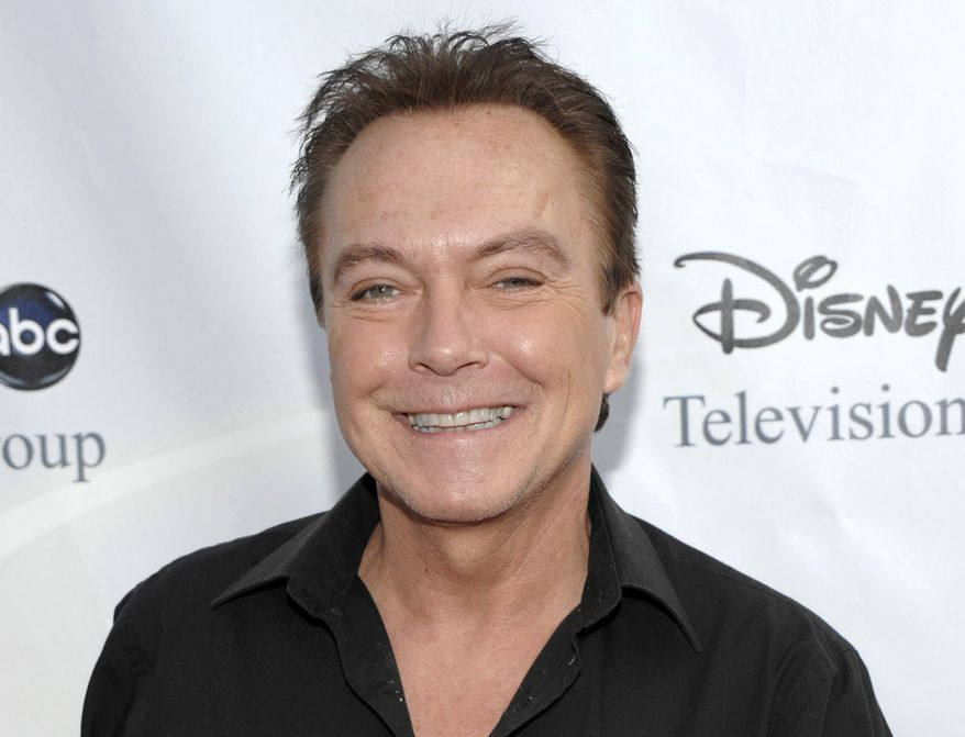 "Actor-singer David Cassidy (shown in 2009), best known for his role as Keith Partridge on ""The Partridge Family,"" is free on $2,500 bail after being charged with felony driving while intoxicated in upstate New York. (AP Photo/Dan Steinberg, File)"