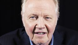 "Jon Voight, an actor in the upcoming film, ""The Getaway,"" poses for a portrait on Wednesday in New York. (Photo by Victoria Will/Invision/AP)"