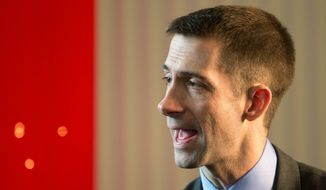 Rep. Tom Cotton, Arkansas Republican (Associated Press)
