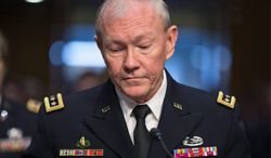 "Army Gen. Martin E. Dempsey, chairman of the Joint Chiefs of Staff: ""Once we take action [in Syria], we should be prepared for what comes next. Deeper involvement is hard to avoid. As we weigh our options, we should be able to conclude with some confidence that the use of force will move us toward the intended outcome."""