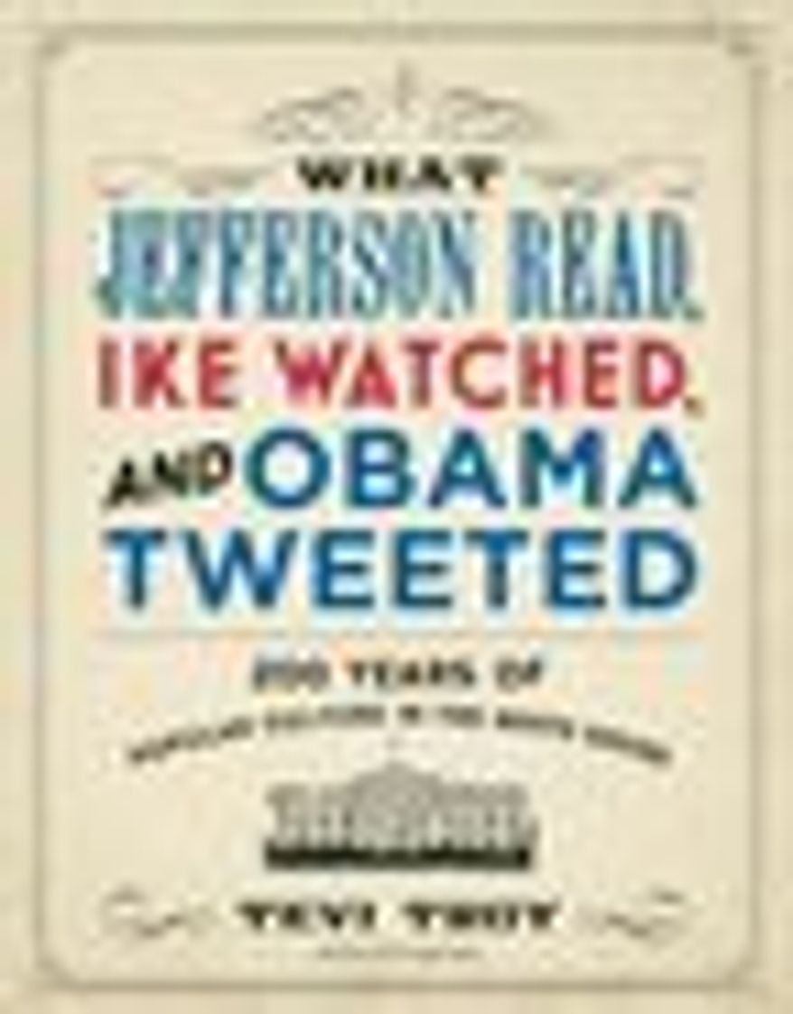 A book by George W. Bush adviser Tevi Troy explores the kinship between pop culture and the presidency. (REGNERY BOOKS)