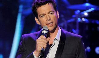 "Singer Harry Connick Jr. performs onstage at ""American Idol"" Season 12 Top 4 To 3 Live Elimination Show in Los Angeles. Fox announced Tuesday that Connick, along with Jennifer Lopez and Keith Urban will be judges on the upcoming season of ""American Idol."" (AP Photo/Fox, Frank Micelotta, File)"