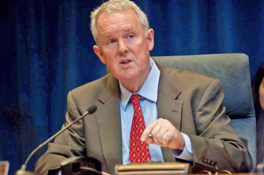 D.C. Council member Tommy Wells, Ward 6 Democrat and a candidate for mayor, wouldn't wade into personnel decisions involving the demotion of fire department Deputy Chief John Donnelly, though he praised his work at the Frager's Hardware fire. (The Washington Times)