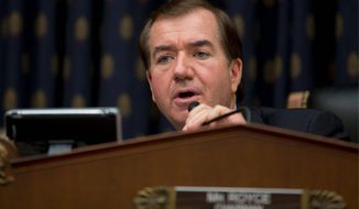 ** FILE ** Rep. Edward R. Royce, California Republican and chairman of the House Foreign Affairs Committee.