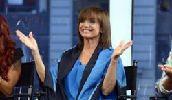 """Actress Valerie Harper appears on """"Good Morning America"""" on Wednesday, Sept. 4, 2013, in New York. (AP Photo/ABC, Ida Mae Astute) ** FILE **"""