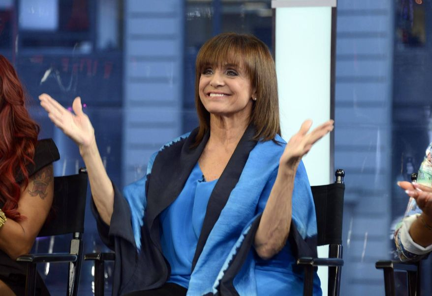 "Actress Valerie Harper appears on ""Good Morning America"" on Wednesday, Sept. 4, 2013, in New York. (AP Photo/ABC, Ida Mae Astute) ** FILE **"