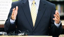 Virginia Attorney General Kenneth T. Cuccinelli II has been a vociferous opponent of the project that will eventually extend Metro past Washington Dulles International Airport and into Loudoun County. He will be called upon to defend its funding mechanism in court, however. (Associated press)