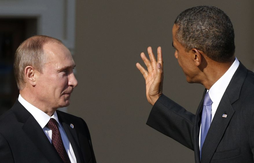 Russian President Vladimir Putin has been a thorn in Obama's side throughout the unrest. He's said it's the rebels, not Assad, who has used chemical weapons. He's dispatched Russian warships to stalk American destroyers in the Mediterranean and threatened to side with Assad in the event of an American strike. (credit:AP)