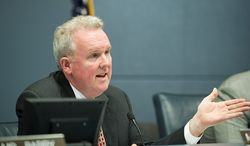 D.C. Council member Tommy Wells, Ward 6 Democrat, aware of the city's reputation for issuing tickets, said he has modeled the marijuana bill after legislation in Massachusetts, where the law has already been road-tested. (The Washington Times)