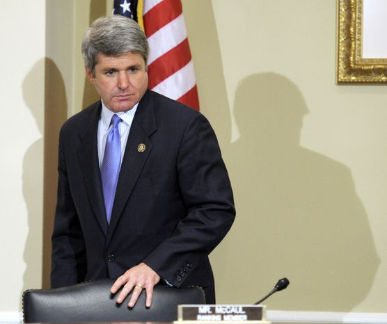 **FILE** Rep. Michael McCaul, Texas Republican and House Committee on Standards of Official Conduct ranking member (Associated Press)