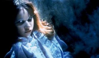"** FILE ** Linda Blair in ""The Exorcist"" (Associated Pree/Warner Bros. Entertainment)"