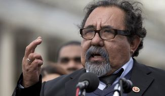 Rep. Raul Grijalva, Arizona Democrat. (Associated Press) ** FILE **