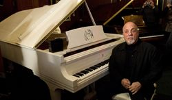 Billy Joel (pictured), Carlos Santana, jazz artist Herbie Hancock and opera star Martina Arroyo, are the four musicians who will receive this year's Kennedy Center Honors, along with actress Shirley MacLaine. The Kennedy Center for the Performing Arts announced the selections Thursday.  (AP Photo/Charles Sykes, File)