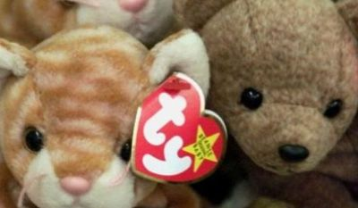 ** FILE ** Ty Inc. Beanie Baby stuffed animals. (Associated Press)