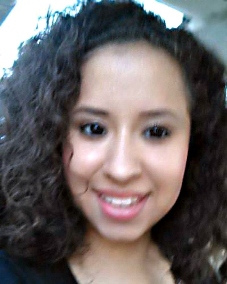 This photo provided by The National Center for Missing & Exploited Children shows an undated photo of Ayvani Hope Perez. Robbers broke into a home near Atlanta early Tuesday, Sept. 17, 2013, demanding jewelry and money, and when they were told there was none of either in the house, abducted the 14-year-old girl and shot and killed the family dog, police said. She was last seen wearing blue and grey Star Wars pajama bottoms and a grey superhero shirt. (AP Photo/National Center for Missing & Exploited Children)