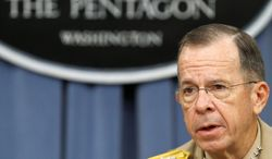 ** FILE ** Adm. Mike Mullen. (Associated Press)