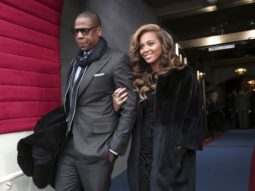 Beyonce and Jay-Z topped Forbes' list, with the celebrity entertainers raking in an estimated $95 million over the past year.