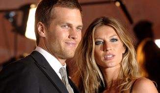 Patriots QB Tom Brady and his super-model wife Gisele Bundchen checked in second on Forbes' list, pocketing $80 million during the past year.