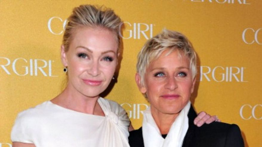 Ellen DeGeneres and spouse Portia Di Rossi were also on the outside looking in at Forbes' list.
