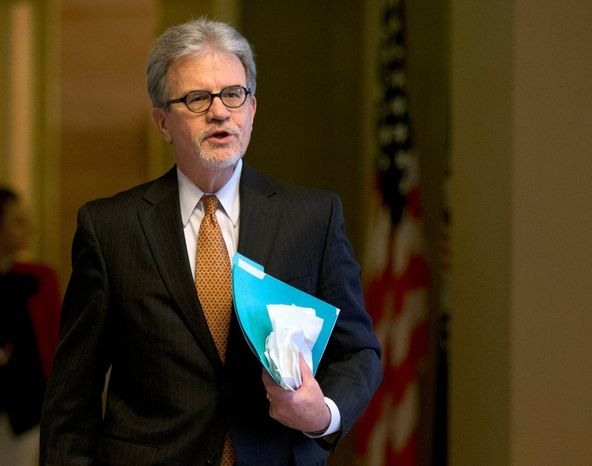 """""""The government and those employed by it will face significant fiscal challenges next year, and now is not the time for a federal spending extravaganza,"""" said fiscal hawk Sen. Tom Coburn, Oklahoma Republican. (Associated Press)"""