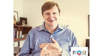 ** FILE ** Former Obama campaign manager Jim Messina poses for a picture he tweeted during the 2012 campaign. (Image: Twitter)