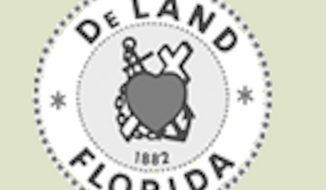 The seal of DeLand, Fla. (www.deland.org)