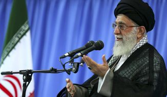 Ayatollah Ali Khamenei is Iran's supreme leader. (AP Photo/Office of the Supreme Leader)