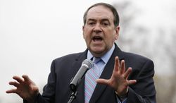 Former Arkansas Gov. and Republican presidential candidate Mike Huckabee