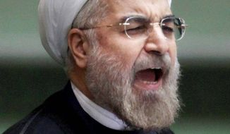 Hasan Rouhani Associated Press photo
